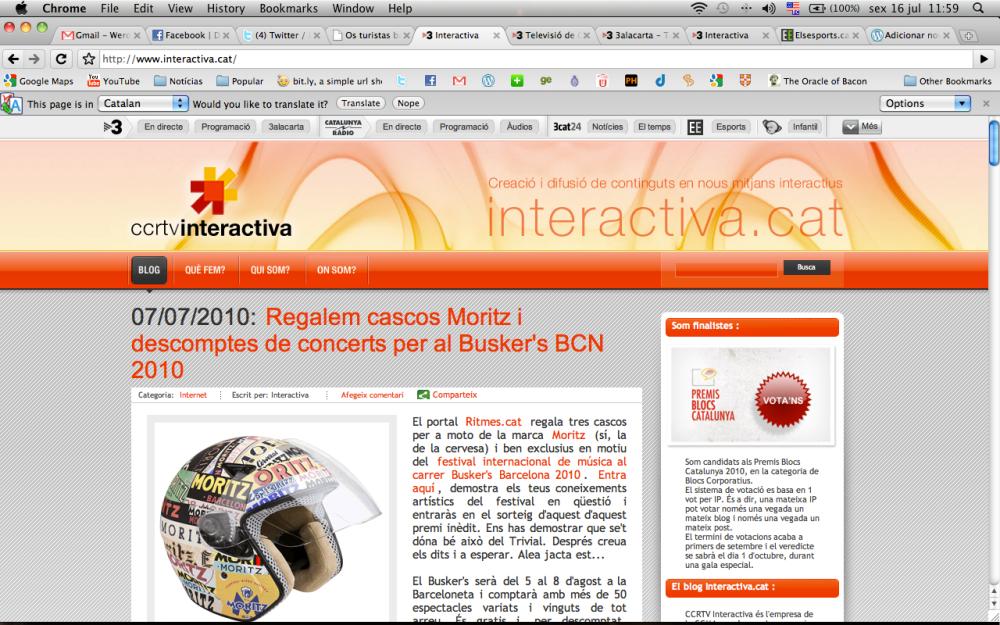 A ccrtv interativa, uma empresa de inovação para uma nova era