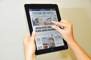Aplicativo do Estado de Minas, um dos mais modernos do país