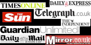 Logomarca dos jornais