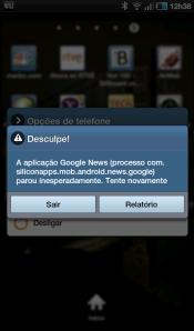 Erros nos aplicativos do Galaxy Tab são constantes