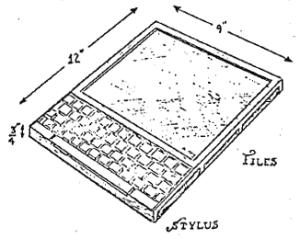 Dynabook, o tablet idealizado por Alan Kay na década de 1970